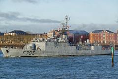 IMG_3493aa_DxO *** Best viewed full screen *** (alanbryherhowell) Tags: commandant blaison f793 corvette frigate warship french navy solent portsmouth