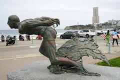 Bondi Beach #_GB_0722 (gunnar.berenmark) Tags: bondibeach sydney australia australien newsouthwales nsw statue lifeguard