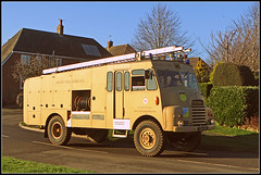 PGW 362 (Jason 87030) Tags: fire service army military greengoddess braunsgton northants northamptonshire vehicle auxillery shot roadside loacl village road wheels ladder raf bedford truck lighting canon eos shoot cconvoy movement meet event rl pgw362 preserved classic iconic khormaksar