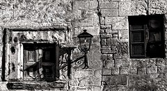 Windows 2 (rossendgricasas) Tags: windows santillanadelmar monochrome bw streetphotography street historical nikon