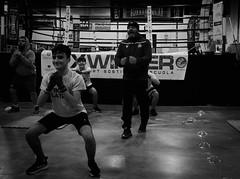 7908 - Squat (Diego Rosato) Tags: squat allenamento training maestro master xwinter ring little boxer piccolo pugile boxe boxing pugilato boxelatina bianconero blackwhite fuji x30 rawtherapee