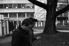 """""""A l'assaut du ciel ! Libérons-nous du travail"""" (Rachelnazou) Tags: caffenol blackwhite minolta fomapan film argentique analog"""