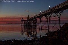 IMG_0561 (del.hickey) Tags: clevedon pier sunset
