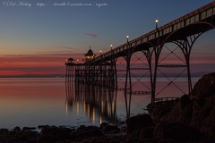 IMG_0560 (del.hickey) Tags: clevedon pier sunset
