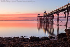 IMG_0556 (del.hickey) Tags: clevedon pier sunset