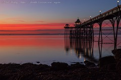 IMG_0553 (del.hickey) Tags: clevedon pier sunset