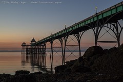 IMG_0543 (del.hickey) Tags: clevedon pier sunset