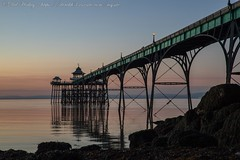 IMG_0542 (del.hickey) Tags: clevedon pier sunset