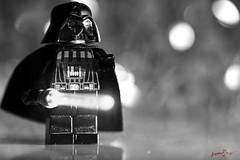 Mini-Vader (1300 Photography) Tags: nikon z6 affinity affinityphoto 105mm macro micro toy toyphotography toys legos starwars darthvader blackwhite blackandwhite