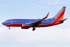 """Southwest Airlines Boeing 737-700 N551WN KLAS 15NOV19 (FelipeGR90) Tags: 737ng boeing737 lasvegas mccarraninternational sincity 737 737700 73g b737 b73g boeing klas las n551wn swa southwest wn """"southwestairlines"""""""