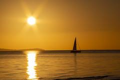 Lepe Sunset (David Blandford photography) Tags: sunset lepe beach solent