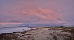 Spiaggia Di Giorgino (Davide Ibiza) Tags: sardegna fujifilm xt3 23mm f12 cagliari tramonto bigstopper nd1000 rosso sunset sky cloudsky