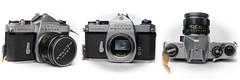 Asahi Pentax Spotmatic SP (1964) (liakada-web) Tags: asahi pentax spotmatic sp 35mm slr film kamera camera