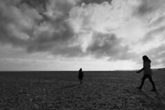 Gorleston Beach - 19/01/20 (markgs21) Tags: gorleston beach winter walk wife child baby toddler sea skies