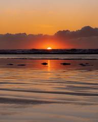 Christmas Day Sunset (Colin Christmas) Tags: sunset beach ocean pacific waves sony samyang oregon coast