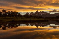 Golden Reflections at Schwabacher Landing (Ken Krach Photography) Tags: grandtetonnationalpark