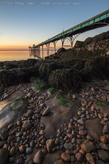 IMG_0537 (del.hickey) Tags: clevedon pier sunset