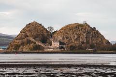 Dumbarton Castle (www.stevenrobinsonpictures.com) Tags: dumbartonrock dumbartoncastle scotland castle scottish scottishculture scenic landscape landscapephotography nikon7020028e nikond810 beautyinnature riverclyde water seascape rock volcanic winter season