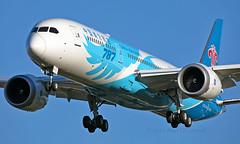 B-20D7 - Boeing 787-9 Dreamliner - LHR (Seán Noel O'Connell) Tags: chinasouthernairlines b20d7 boeing 7879 dreamliner b787 b789 787 heathrowairport heathrow lhr egll can zggg cz303 csn303 aviation avgeek aviationphotography planespotting 27l