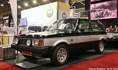Talbot Sunbeam Lotus 1980 (XBXG) Tags: ft18xl talbot sunbeam lotus 1980 simca rootes noir black interclassics 2020 forum expo exhibition mecc maastricht limburg nederland holland netherlands paysbas youngtimer old classic british car auto automobile voiture ancienne anglaise uk brits vehicle indoor