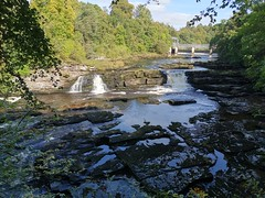 Photo of Bonnington Linn and Bonnington Weir