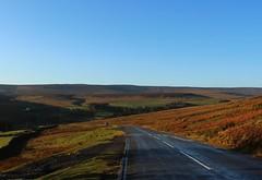 my favourite view (kokoschka's doll) Tags: road bank bollihope moorland heather pennines weardale sky hill