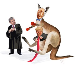 Mitcheroo's (Crickett-Grrrl) Tags: cartoon senate impeachment kangaroo trial ipadart digitaldrawing procreate5 illustration drawing
