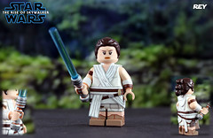 Custom LEGO Star Wars: The Rise of Skywalker | Rey (LegoMatic9) Tags: custom lego star wars the rise skywalker episode 9 ix rey palpatine kylo ren ben solo leia lightsaber hilt saber