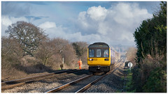 A one way journey (Mark Gowing) Tags: 142039 142057 142050 woolaston class142 class142scrapunits dmu