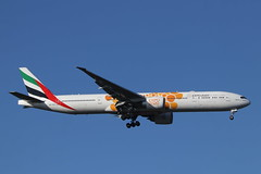 Photo of A6-EQO 777 Stansted.