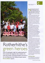 "Rotherhithe's Green Heroes - Green Places Journal (May 2012) (Kam Hong Leung – Stave Hill Ecology Park_1) Tags: ""beatriceleung"" ""kamhongleung"" ""leungkamhong"" 'rotherhithegreenhero' 'greenplacesjournal' se16 'russiadockwoodland' 'friendsofrussiadockwoodland' 'btcv tcv 'stavehill' 'stavehillecologicalpark' 'theforestbathinginstitute' tfbi 'mindfulnessmeditation' 'stevecornish' 'rebekaclark' 'stjohn'sprimaryschool' 'verajajechnyk' 'ecoschoolgreenflagaward' 'richardmcilwain' 'keepbritaintidy' 'communitytreesplantingproject' 'canadawater' rotherhithe 'surreyquays' 'surreydocks' southwark london 'climatechange' wood woodland tree flora fauna wildlife ""londonpark"" park parkland 'greenspace' conservation ecology environment nature plant ey 'rbg kew' 'kewgardens' volunteer bird 'muteswan' 'greyheron' community neighbourhood 'naturalneighbourhood' pupil boy girl kid child"