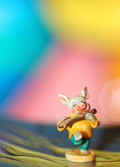 "This Little Piggy (dianne_stankiewicz) Tags: ""threelittlepigs"" figurine ceramic hmm pig collectible littlestickspig macromondays macro miniature goebel mini three little pigs"