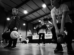 7833 - Training (Diego Rosato) Tags: training allenamento little boxer piccolo pugile boxing pugilato boxe boxelatina ring xwinter fuji x30 rawtherapee bianconero blackwhite