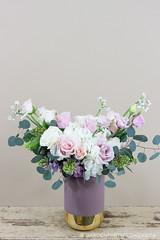 IMG_4633 (Garden Party Flowers) Tags: jan202020vancleeforder arrangement floral florist flowers pinkandpurple softpink vancouver