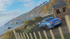ferrari california t 2 (Keischa-Assili) Tags: 4k uhd 1080p full hd fullhd wallpaper screenshot photo auto car automotive automobile virtual digital game gaming graphic edited photography picture videogame forza horizon 4 blue ferrari california t italian sportscar