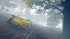 amg gt 63 8 (Keischa-Assili) Tags: 4k uhd 1080p full hd fullhd wallpaper screenshot photo auto car automotive automobile virtual digital game gaming graphic edited photography picture videogame forza horizon 4 yellow black amg gt 63 autumn fog