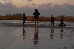 Met papa op het strand. (WalWies fotografie) Tags: makkum gezin beach strand