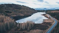 Loch na Creige (NanashiNoProfile) Tags: dji mavic mini drone dronephotography scotland fly flight