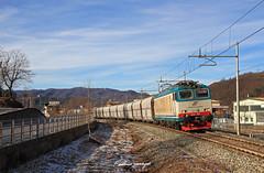 FS E652.123 - Robilante (Federico Santagati) Tags: merci mercitalia rail xmpr e652 652 123 trino robilante mir pulita linda mrs rapido speciale 50919 freight concrete cement clinker buzzi unicem fs