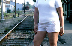 Another view, 1987 (clarkfred33) Tags: view shortshorts ocala track 1987 station cropped aclhistory