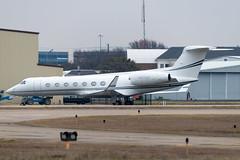 N370GP Gulfstream G550 5199 KADS (CanAmJetz) Tags: n370gp gulfstream g550 kads ads aircraft airplane bizjet 5199 nikon