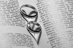 Oath of Love (jean valjean.) Tags: blackwhite rings shadows hearts words oath love believe faith art