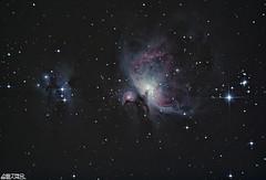The Orion Nebula - M42 (AstroBeard) Tags: astro astrophotography astronomy stars space skyatnight night sky constellation orion nebula flame dorset belt sword canon deep stacker m42 ngc2024 ngc 2024 stack skywatcher staradventurer chickerell 130pds reflector newtonian messier barnard astrometrydotnet:id=nova3881126 astrometrydotnet:status=solved