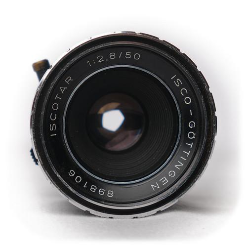 Isco-Göttingen Iscotar 50mm f/2.8 M42 (1964)