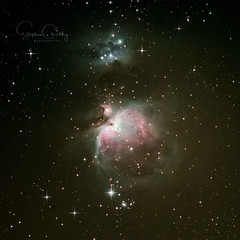 The Orion Nebula (Starman_1969) Tags: alnitak beach belt constellation horshead lytham m42 nebula orion orionnebula stacked telescope