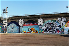 Soak / Kazz / Cave / Madman (Alex Ellison) Tags: soak roller kazz cave exitcrew farsi madman southlondon urban graffiti graff boobs halloffame hof