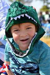 A young dinosaur (radargeek) Tags: 2019 april norman normanmedievalfaire2019 medievalfair oklahoma child children kid kids costume dinosaur