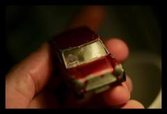 Driving a mini (Zenas M) Tags: werehere wah hereios car mini minimini driving acarinthehand macro micro babydriver littledriver steeringwheel