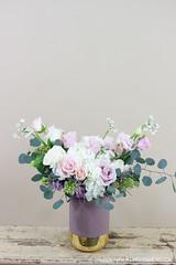 IMG_4631 (Garden Party Flowers) Tags: jan202020vancleeforder arrangement floral florist flowers pinkandpurple softpink vancouver