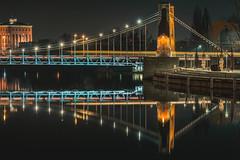 in the city (pasiak75) Tags: 2020 odra wroclaw wrocławbynight city cityscape krajobraz landscape lustro miasto mirrors night noc odbicie reflections river